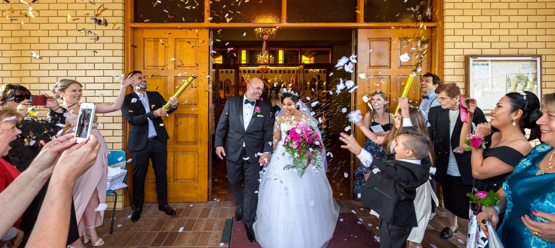 Greek orthodox church wedding Italian