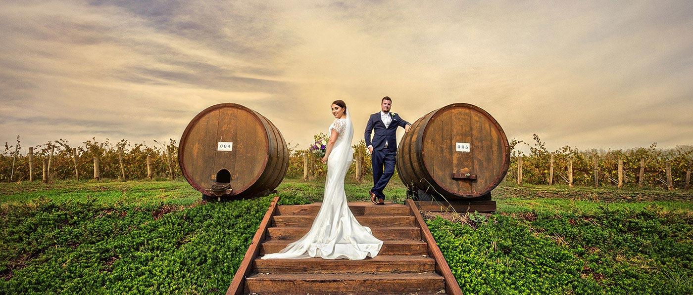 Winery Howard Vineyard wedding