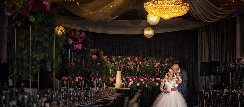 Krystal Function centre wedding