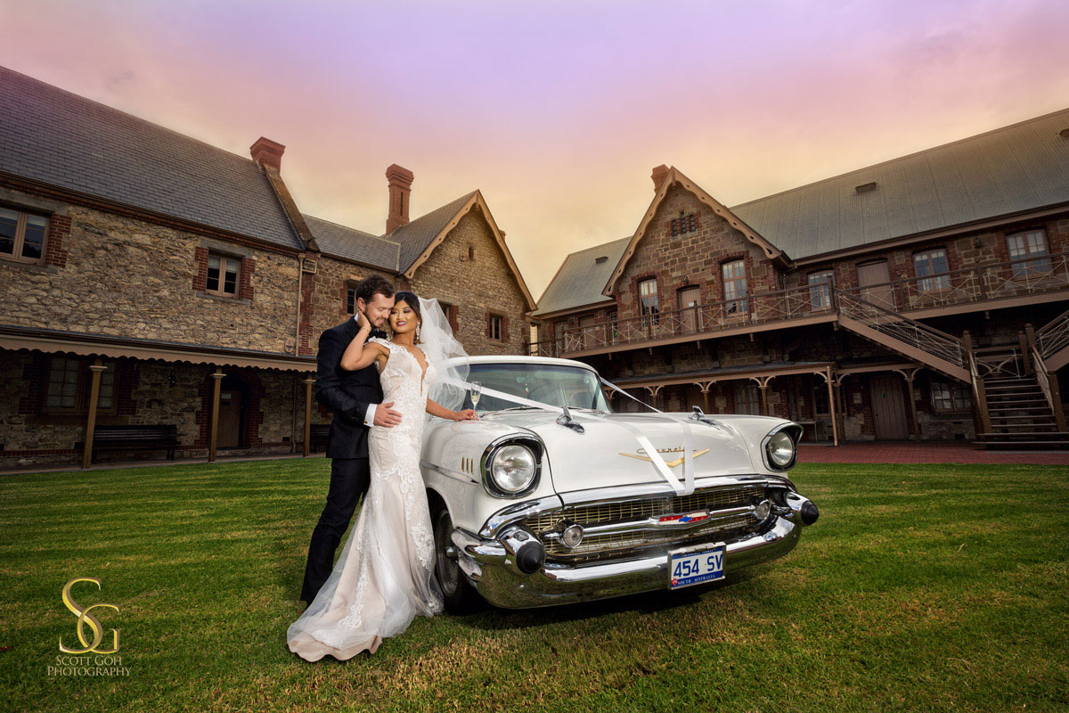SA Museum wedding photography