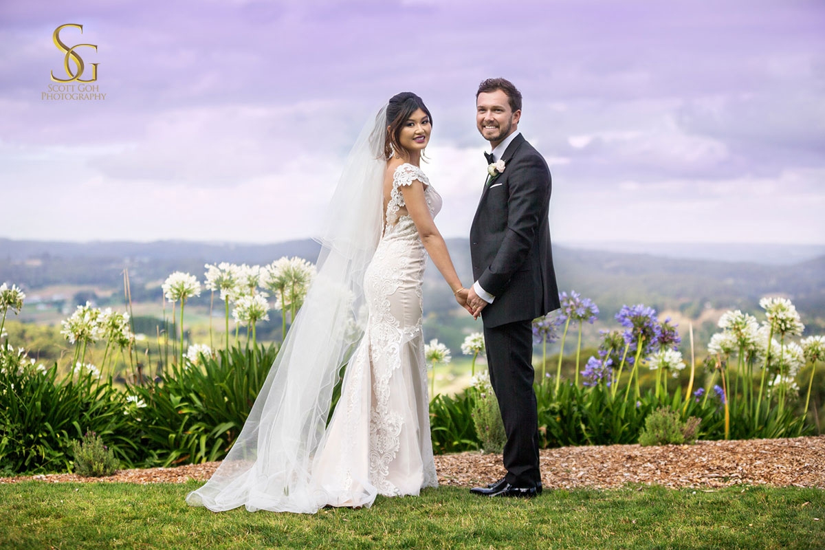 Mount Lofty Adelaide Wedding Photography