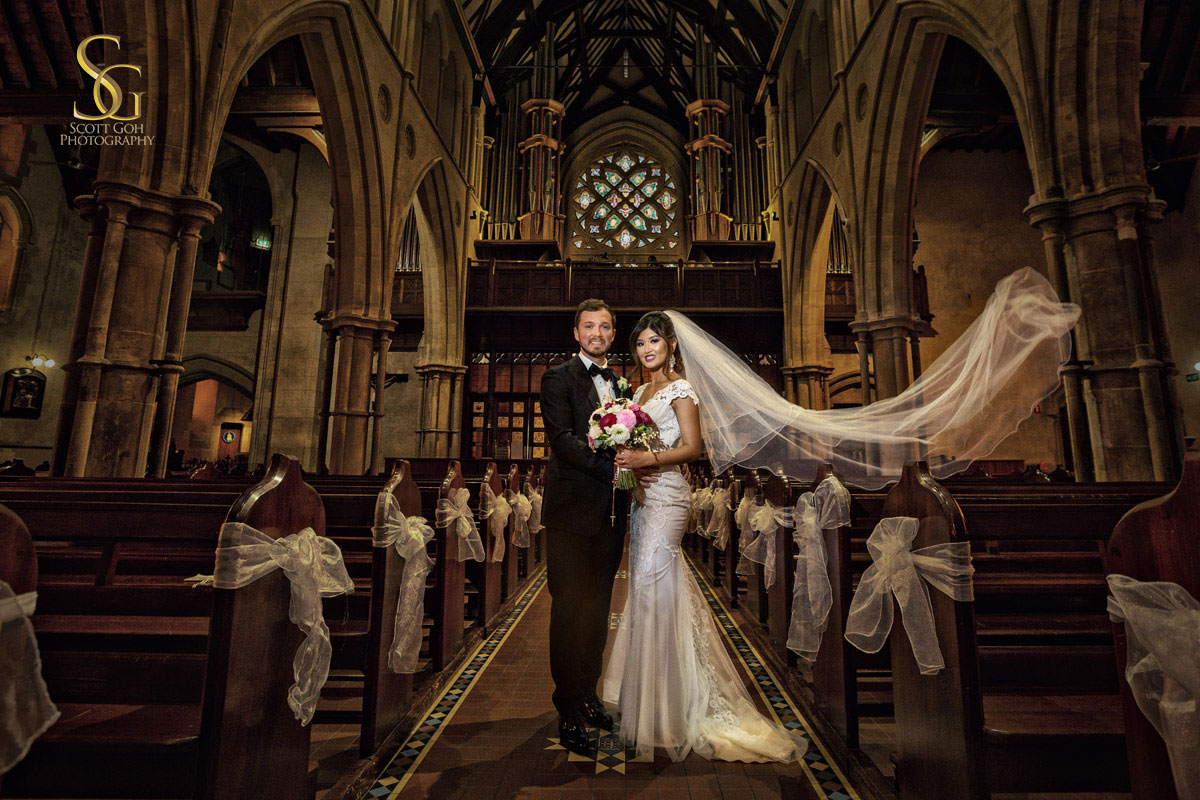 Adelaide Cathedral church wedding