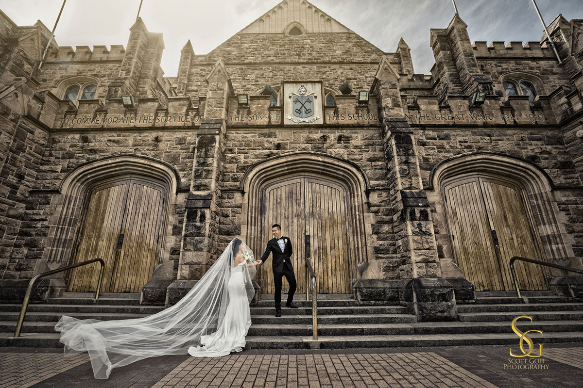 Saint Peters College Wedding Adelaide