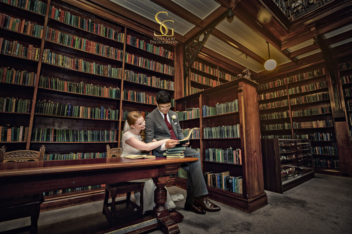 Mortlock Wing South Australia State Library Wedding