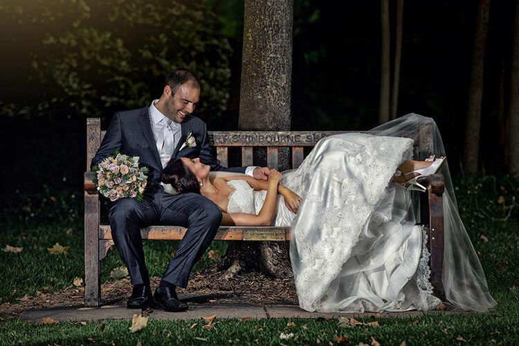 Garden botanic adelaide wedding photographer
