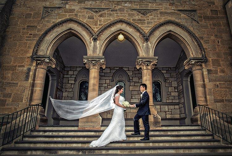 church wedding wesley united photography