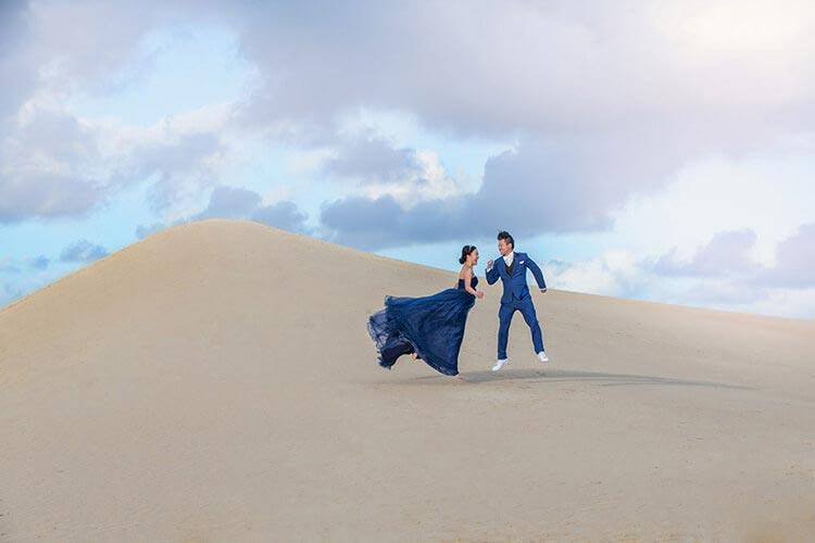 Kangaroo island wedding elopement photo