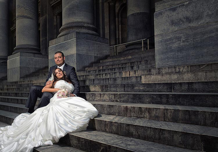 Adelaide South Australia parliament house wedding photography