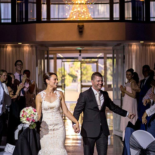 wedding entrance reception  john di fede