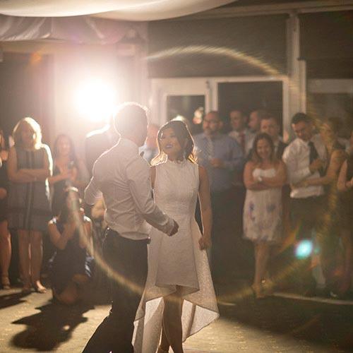 first dance reception mount lofty wedding