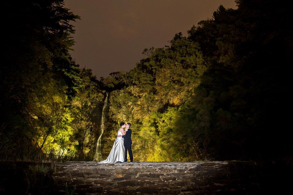 utopia wedding photo night