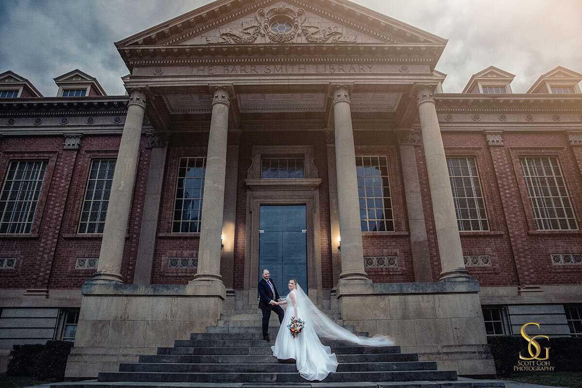 Adelaide university wedding photo