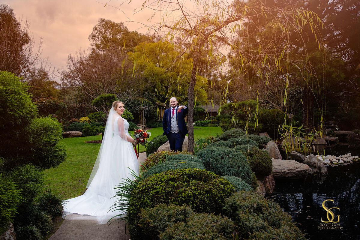 Adelaide Himeji Garden wedding
