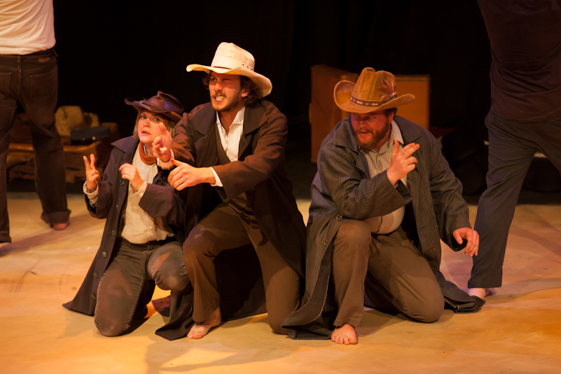 performance still - Sheriff Odin and his sons