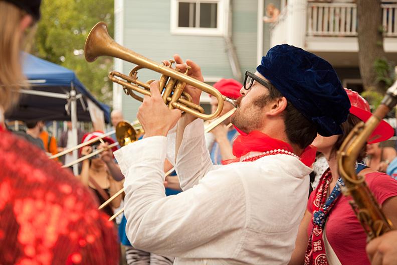 bastille day 2009 trumpet