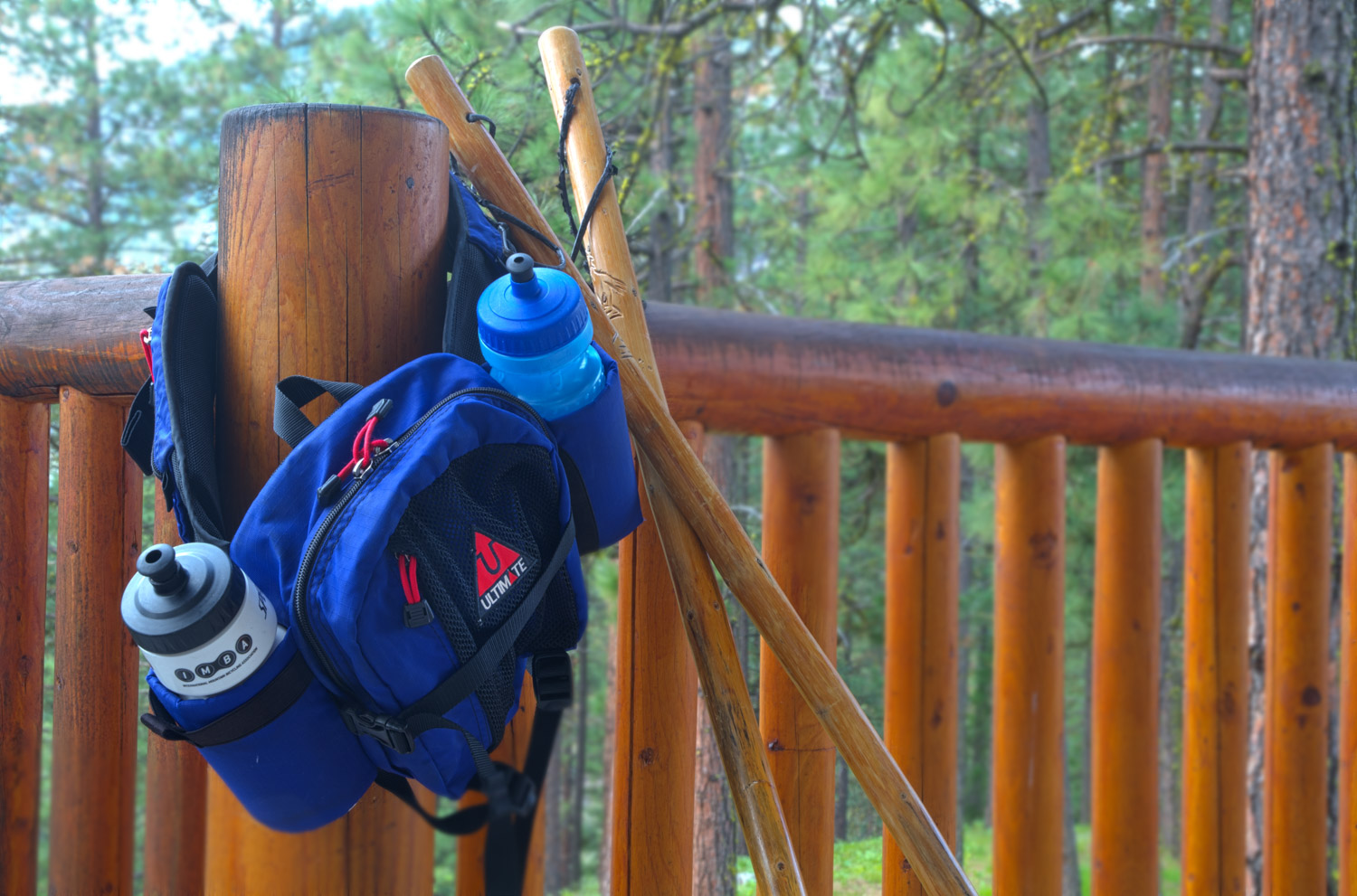 Hiking Packs & Sticks