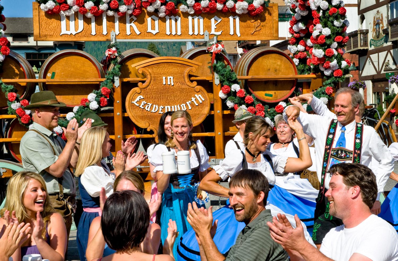 Dining & Bier Gardens In Leavenworth