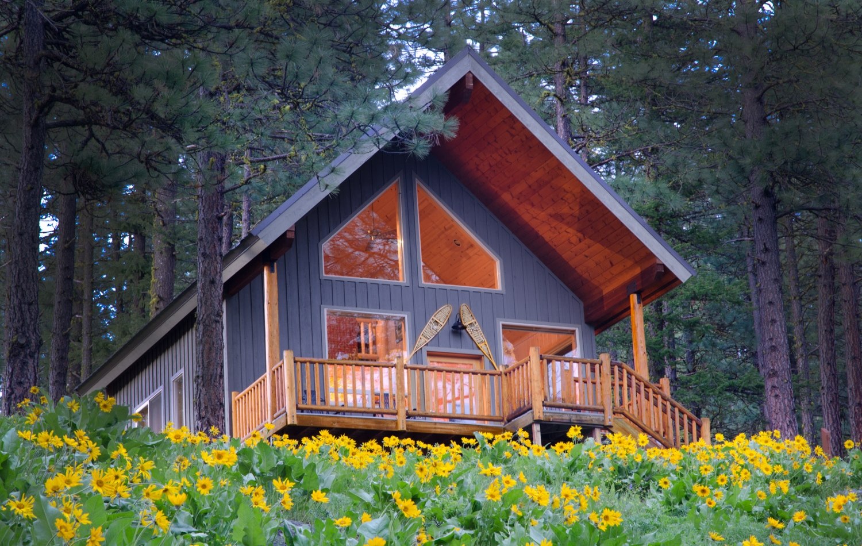 Cabin Ponder Rock