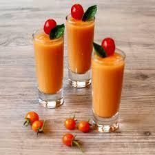 Summer soup shots!