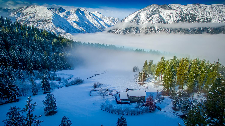 Our winter wonderland!
