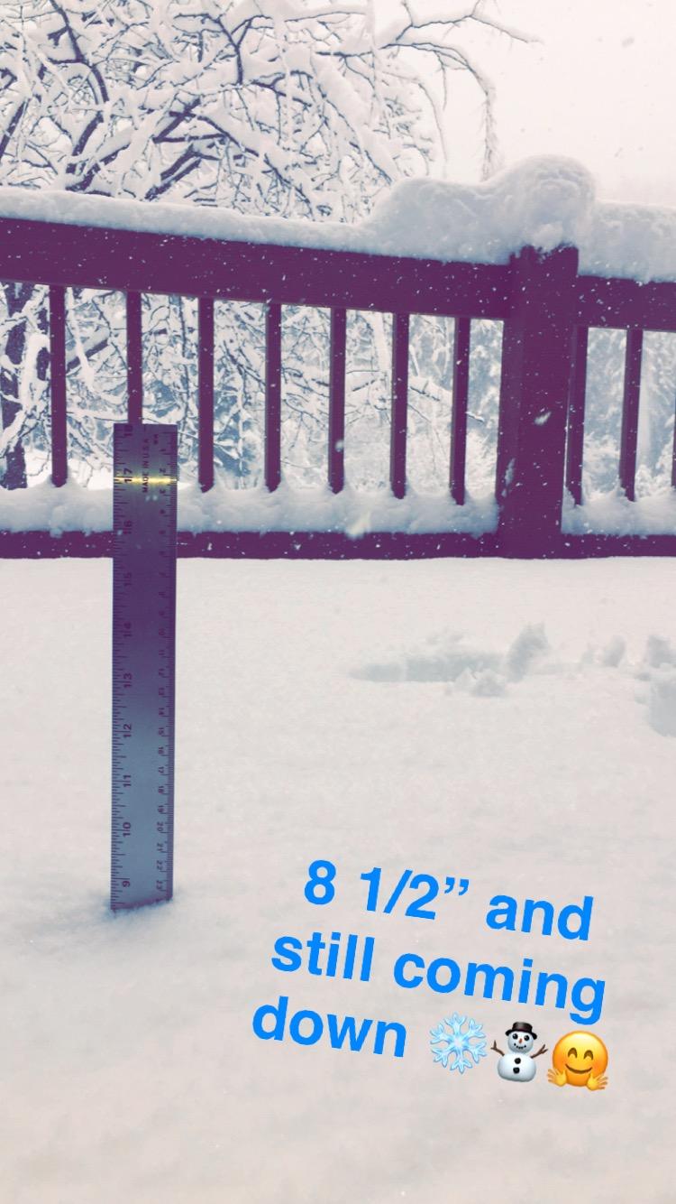 keep on snowing!