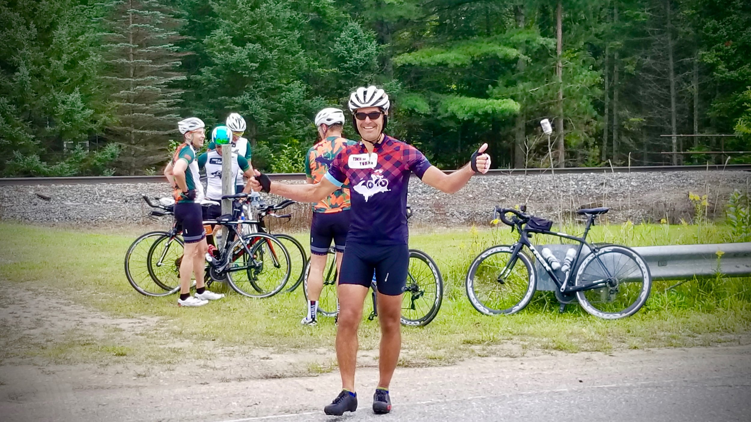 How Do You Get the Plaid Jersey? - Simple but definitely not easy. You just have to complete all 10 sections of the 1,200 mile Tour Da Yoop, Eh! It doesn't matter if it takes you 10 years or 10 days - you'll get something worth bragging about.