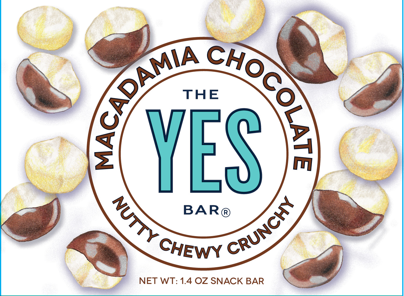 Final label for Macadamia Chocolate