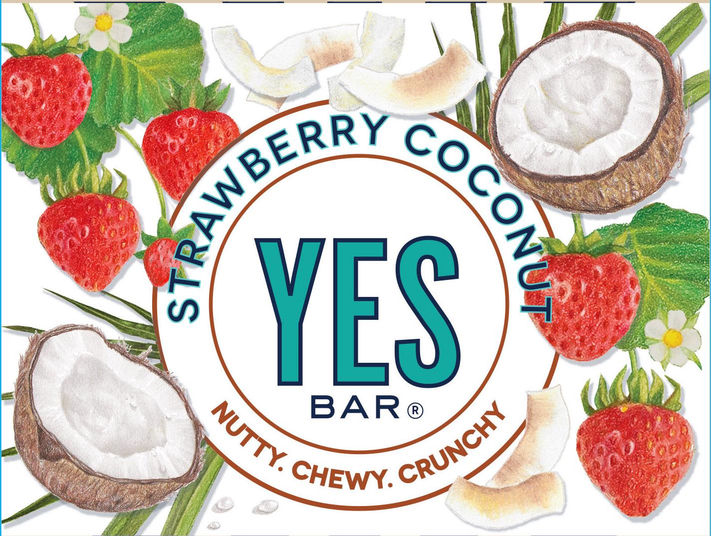Intermediate version for Strawberry Coconut