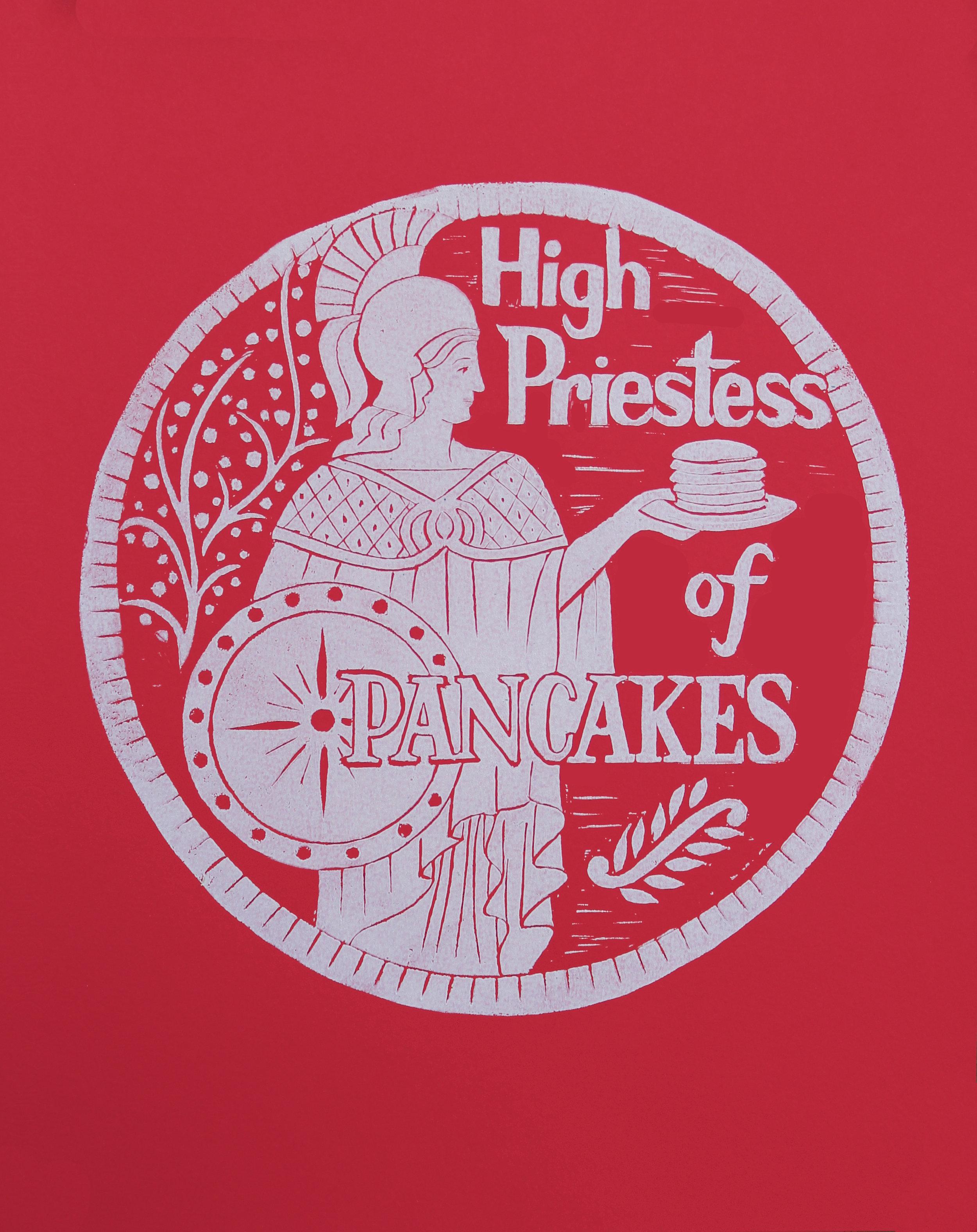 High Priestess of Pancakes    #HP11WR