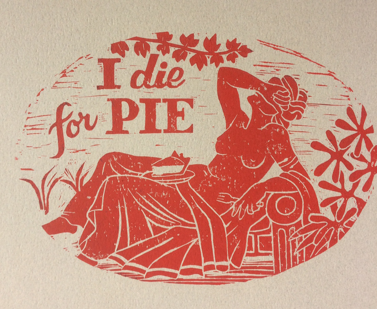 I Die for Pie                    #ID9WR