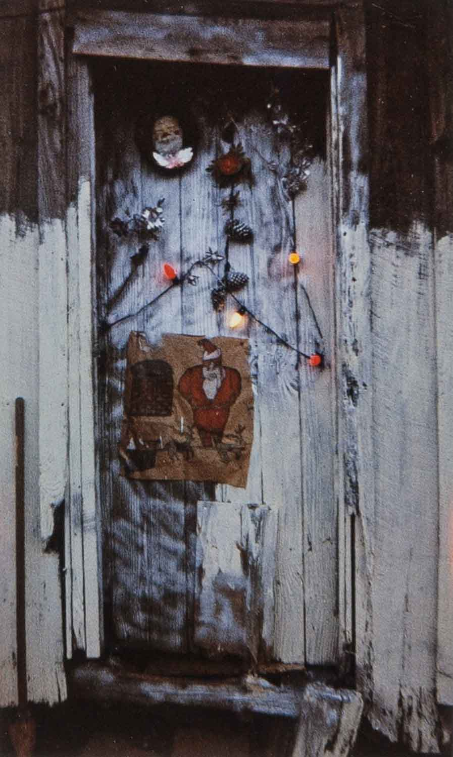 Door of House at Christmas Time, Greensboro, AL