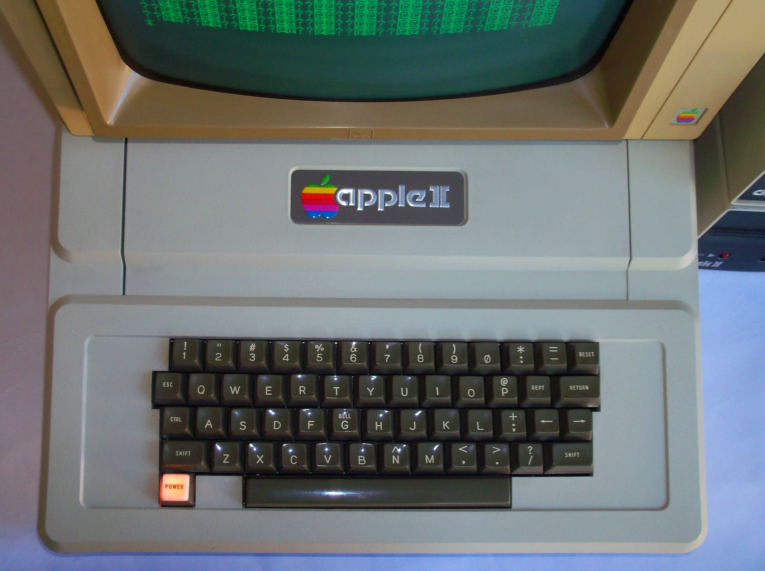 apple ][ keyboard