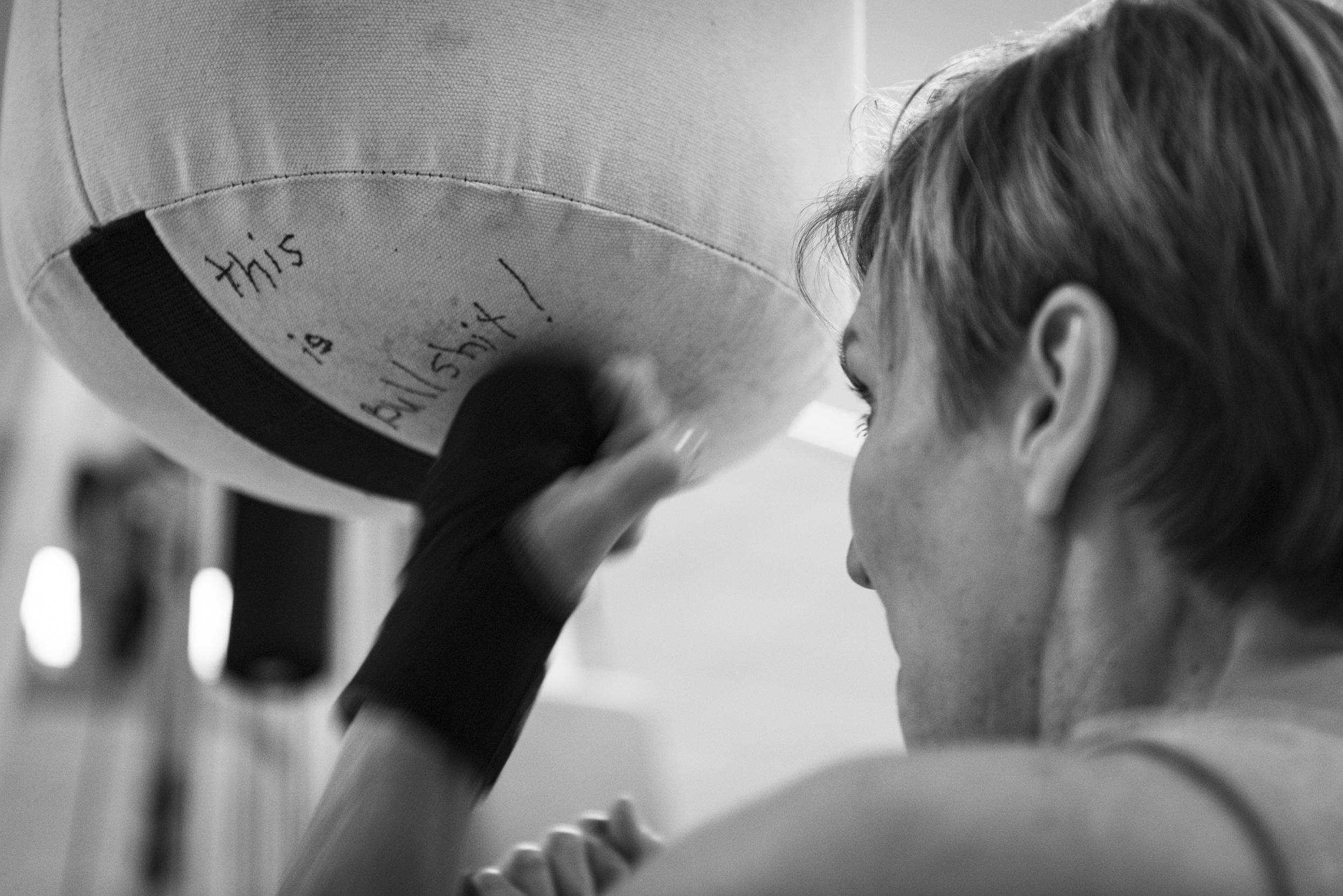 Cretaro isn't a stranger to intense workouts. In her 40s, she earned a black belt in taekwondo.