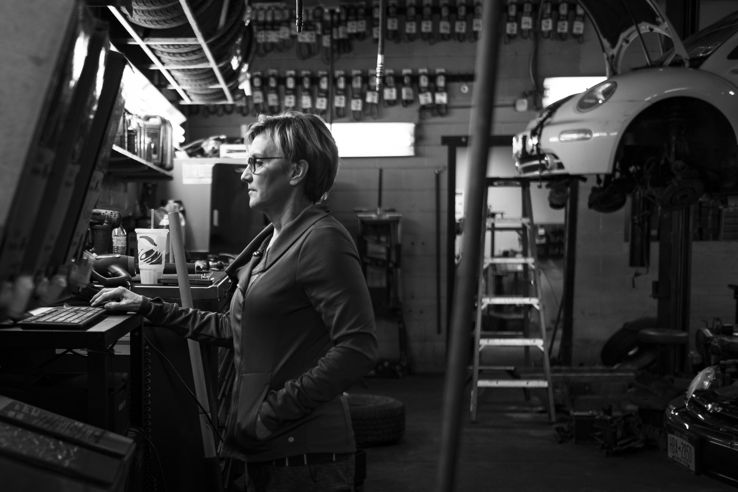 Cretaro first noticed her Parkinson's symptoms while at work. She and her husband, Mike Cretaro, have owned an Auto Service Center in North Syracuse for more than 30 years. In 2016, when Karen was first diagnosed with Parkinson's disease, the couple decided they would try to transition out of the business by finding someone to take it over. Nowadays, Karen visits the auto center about once a week and makes sure the new soon-to-be-owners are doing OK.