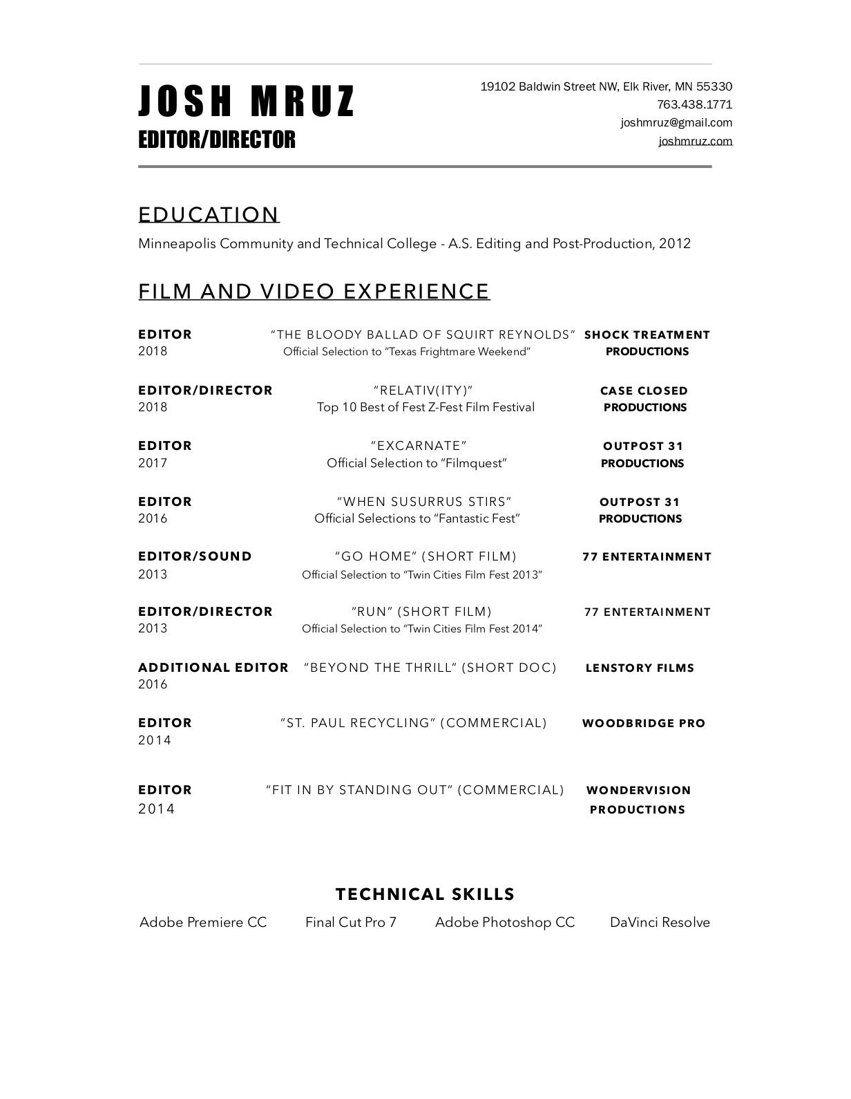 Josh Mruz Resume (2018).png
