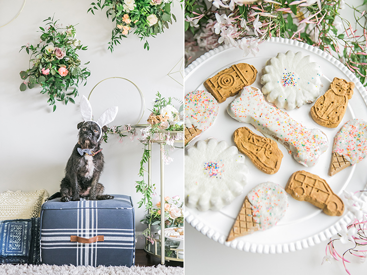 easter table inspiration and decor dog party ideas