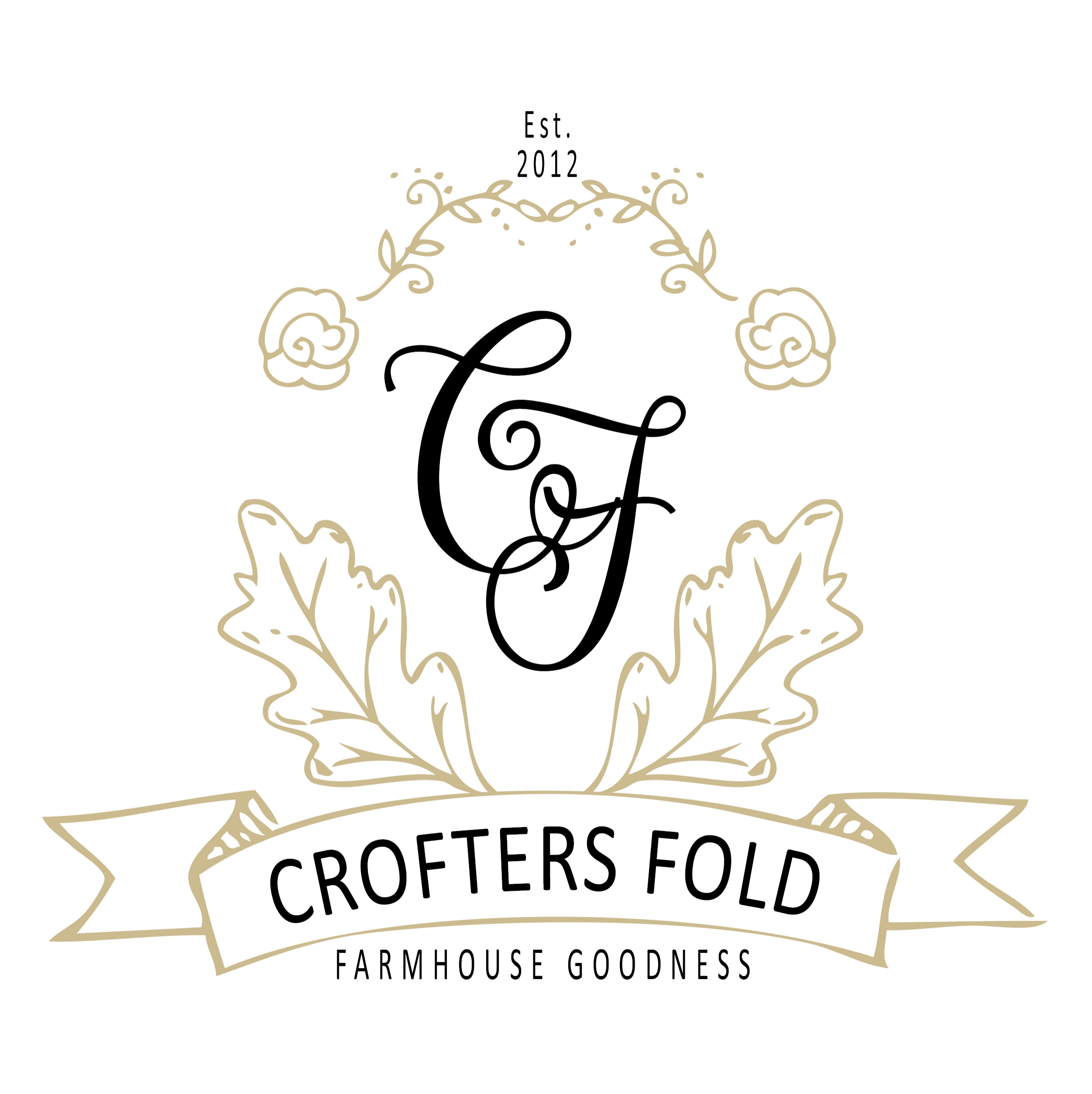 branding + website  crofters fold ESTATE