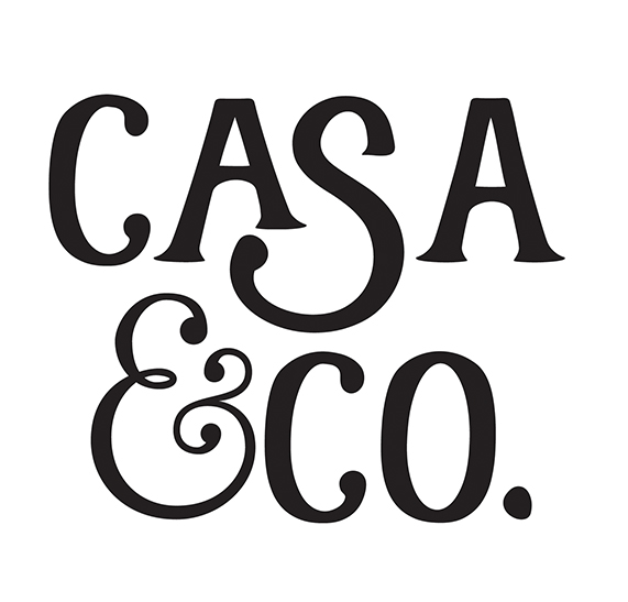 logo design  casa & co. Accommodation