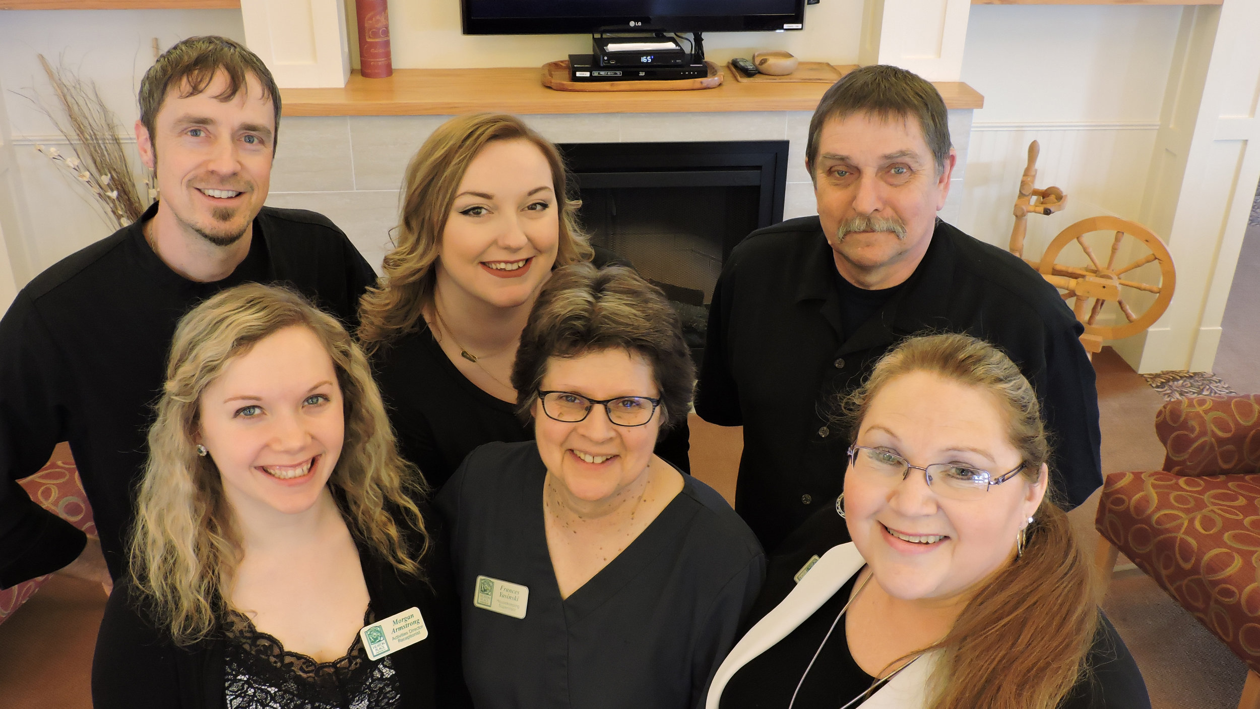 The staff of heaton place retirement community