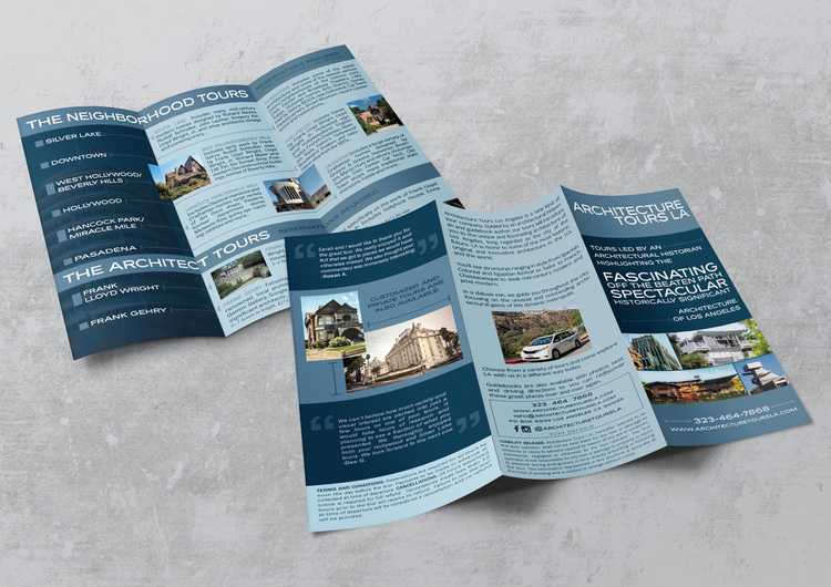 brochure graphic design los angeles Flyer Design North Hollywood