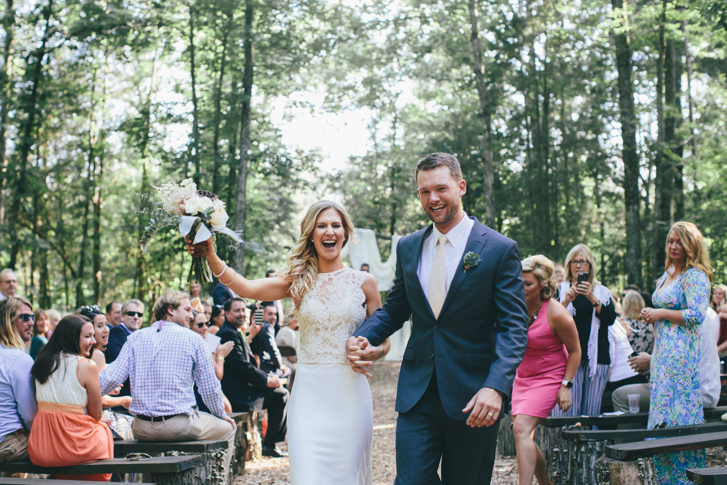 Ceremony-Only Package - Up to 50 peopleMon-Thurs: $800Friday & Sunday: $1,000Saturday: $1,400 (available December-March)Up to 100 peopleMon-Thurs: $1,000Friday & Sunday: $1,200 (available December-March)Saturday: $1,600 (available December-March)This package includes a ceremony only (no reception) at the Wedding in the Woods site.This ceremony-only package is not available on Saturdays from April-November. (Note that the Wedding in the Woods site IS available on Saturdays in our Barn, Tent, and All-Inclusive Packages).Photo: Two Cents Photo + Film