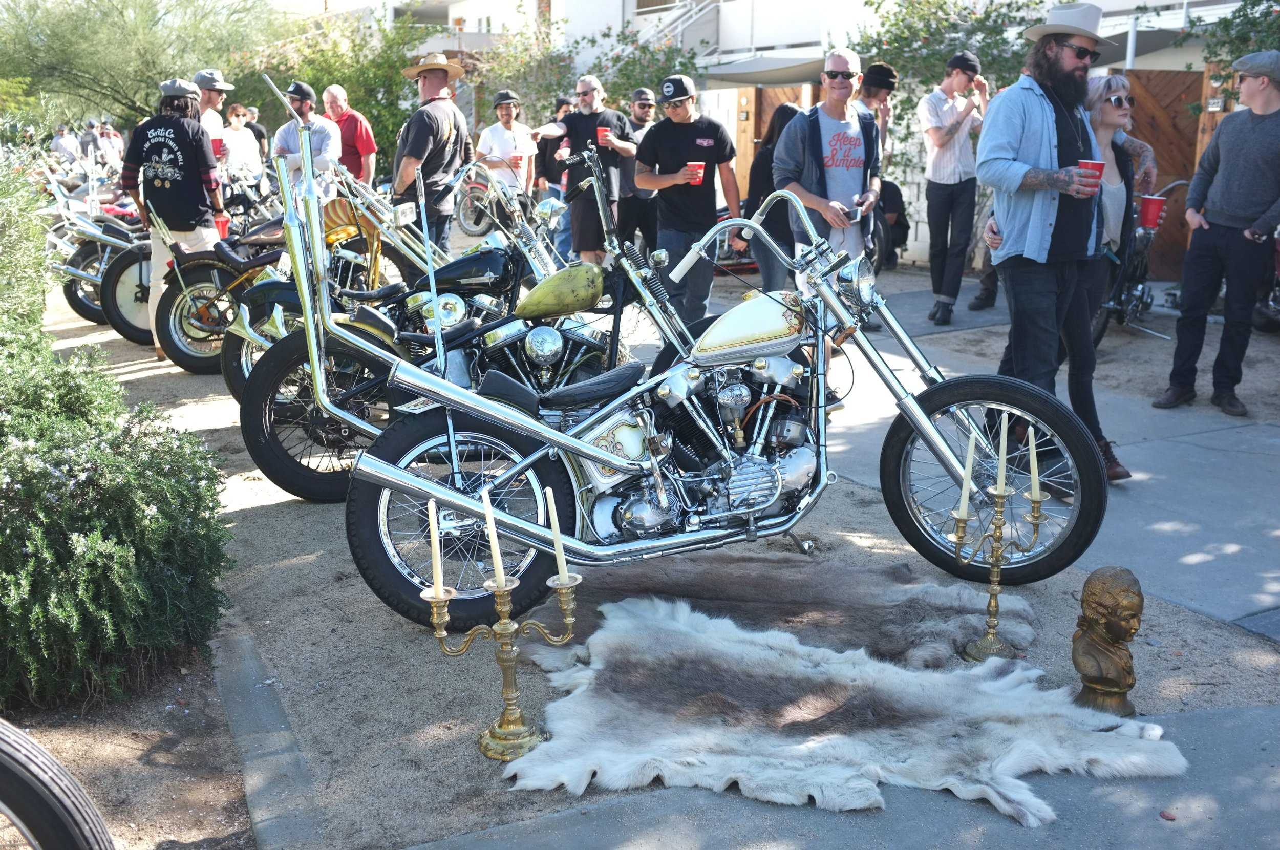 Chatty's Knucklehead at Paradise Road Show
