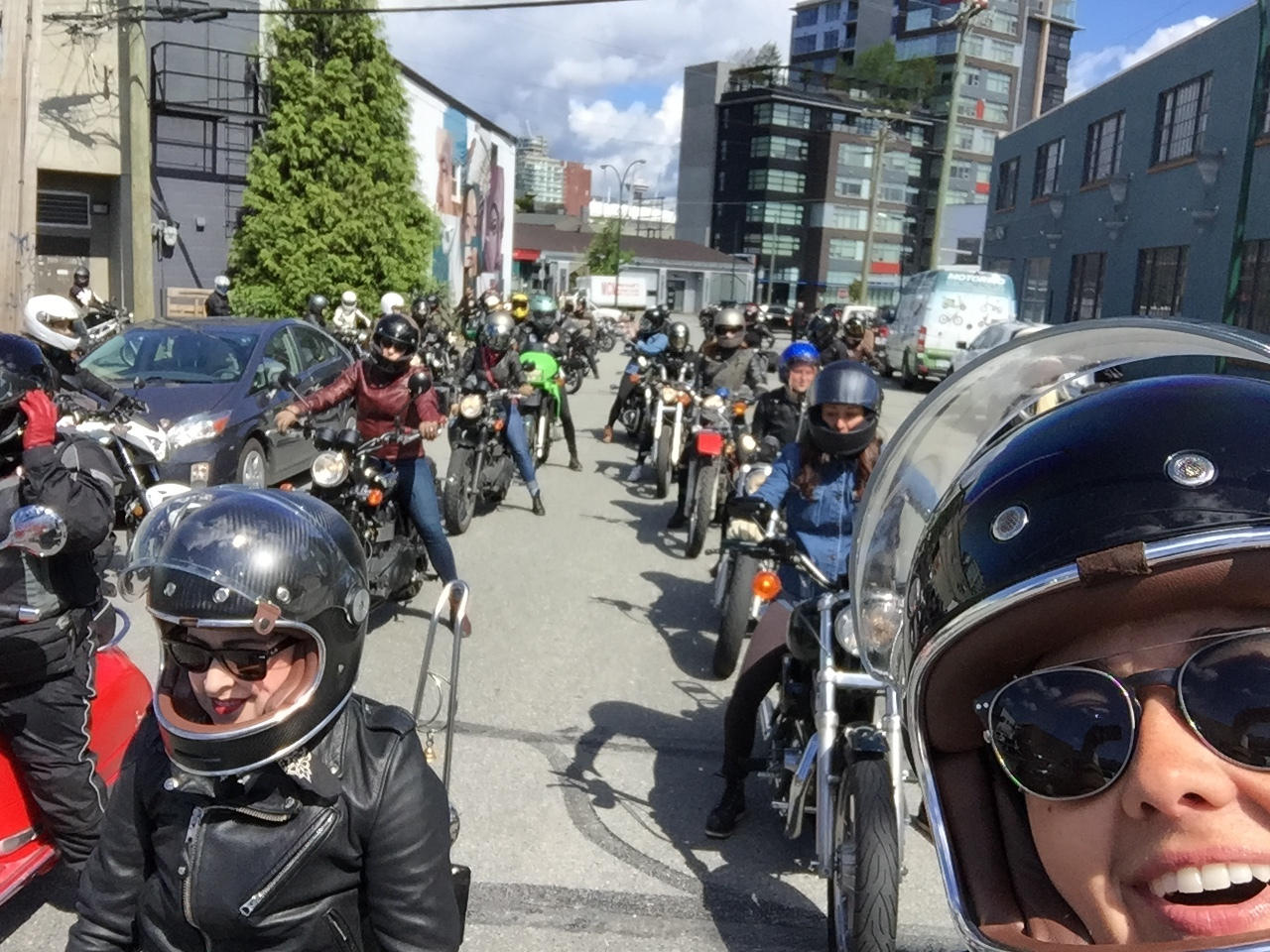 International Female Ride Day Vancouver