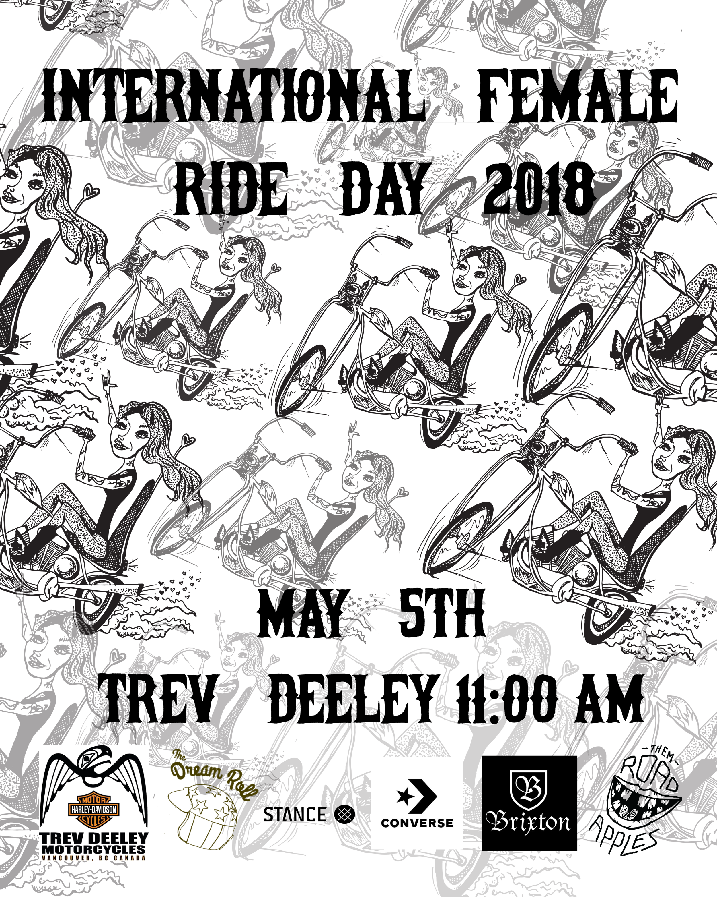 Becky Goebel // International Female Ride Day