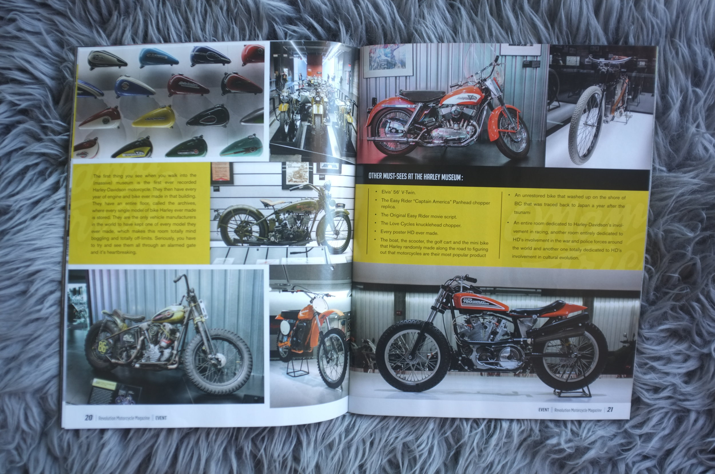 Revolution Motorcycle Magazine // Becky Goebel // Mama Tried
