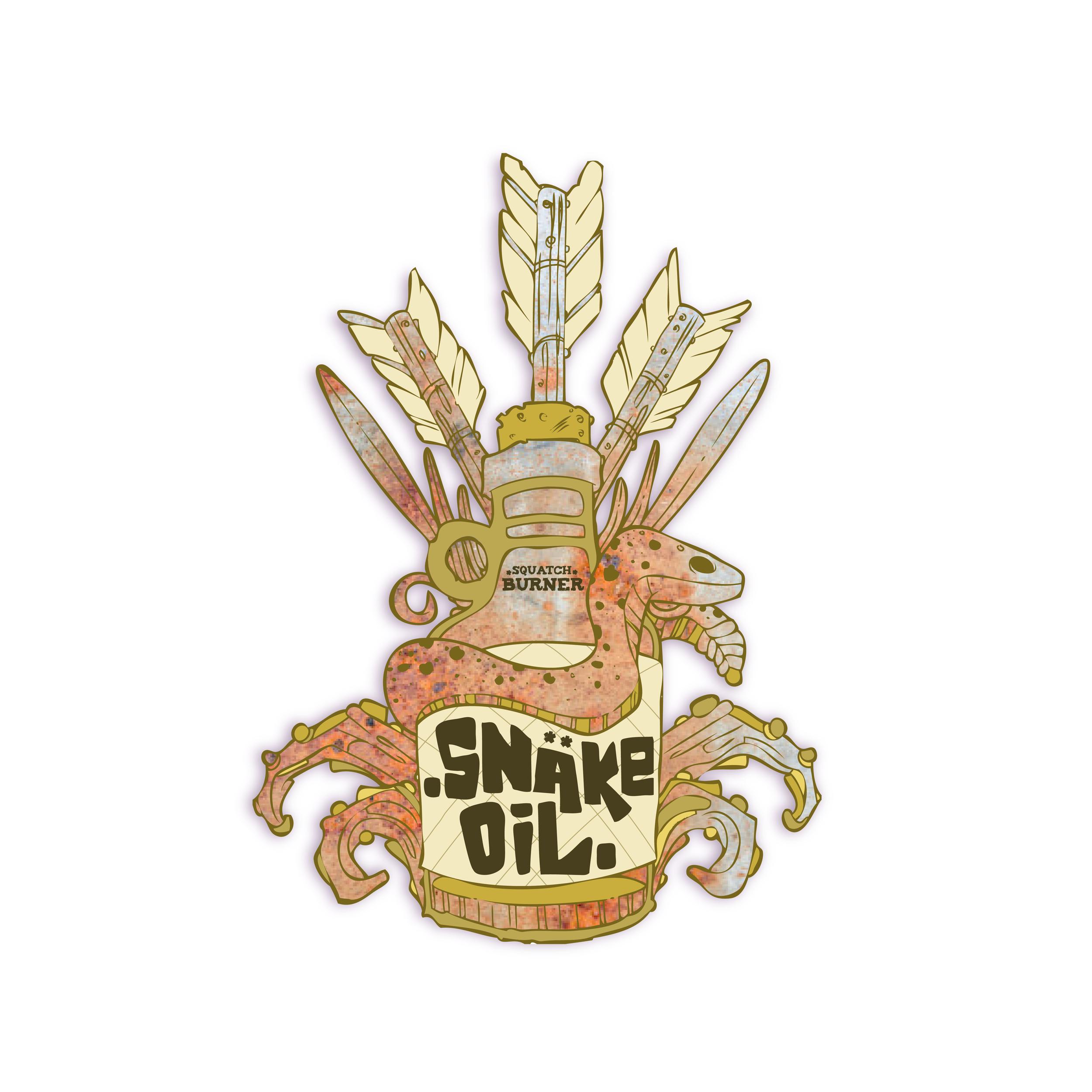 Snake Oil Squatch Burner