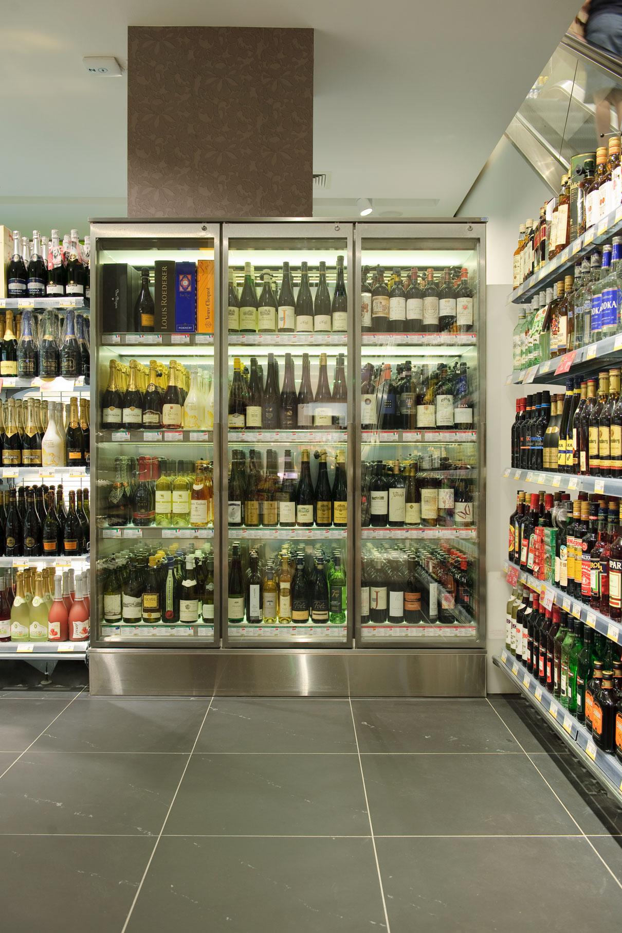 Billa Singerstraße – neuartige Supermarkt-Gestaltung