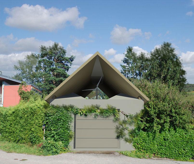 Windhaus — ein innovatives Energiekonzept