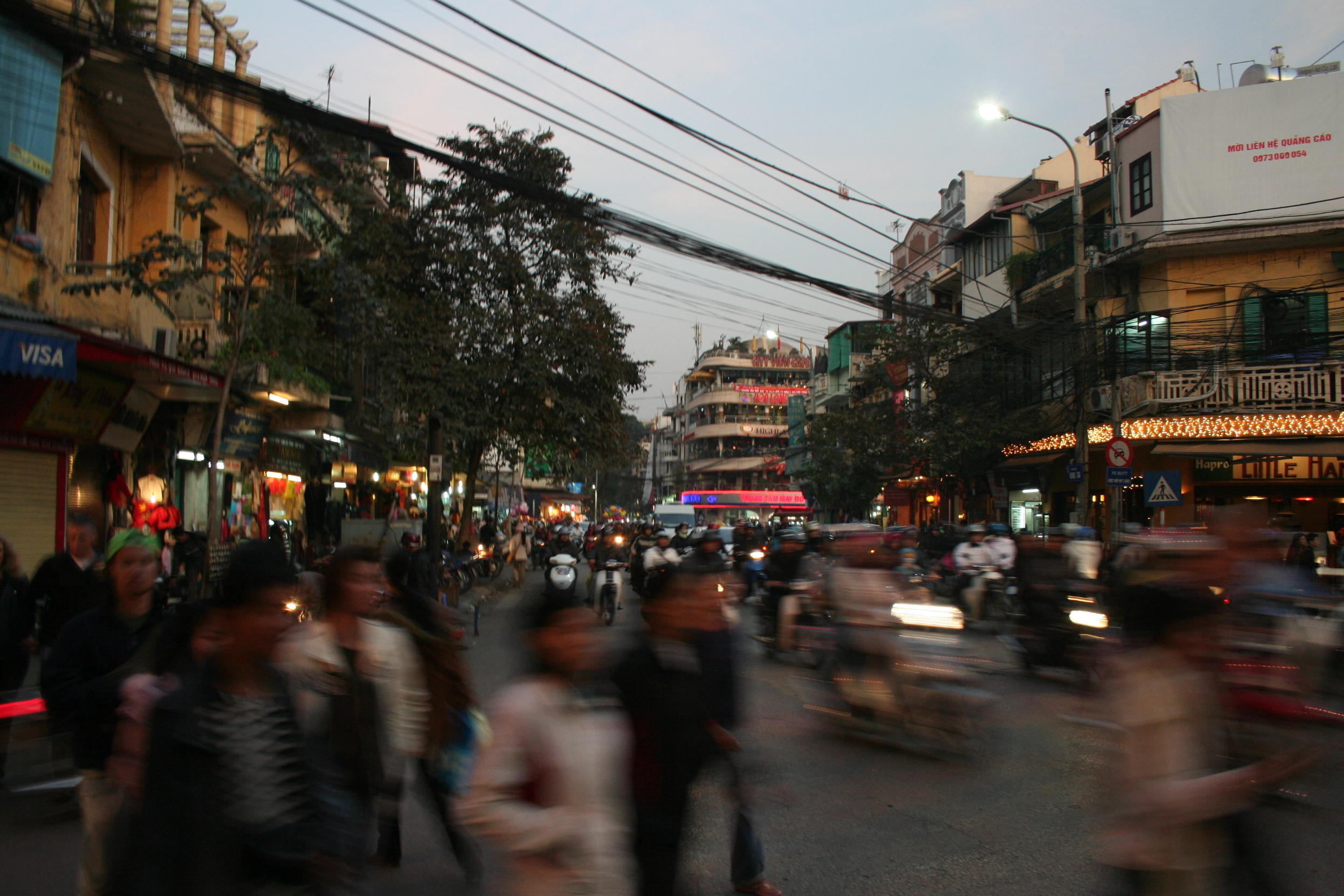 The bustling heart of Vietnam