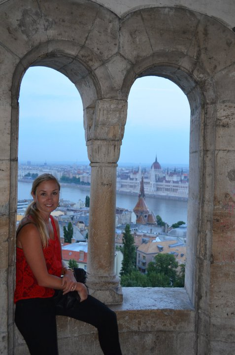 Lapping up the inspiring landscape in Budapest
